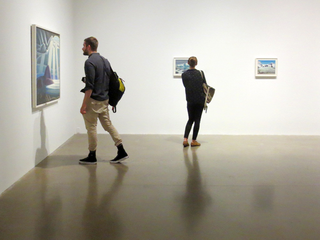 the idea of north exhibit the paintings of lawren harris at ago toronto curated by steve martin