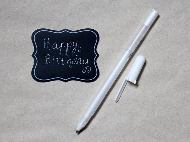 use-gel-pen-to-write-on-chalkboard-paper