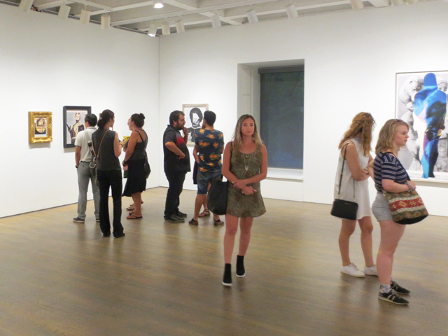 at AIMIA AGO Photography Prize viewing toronto