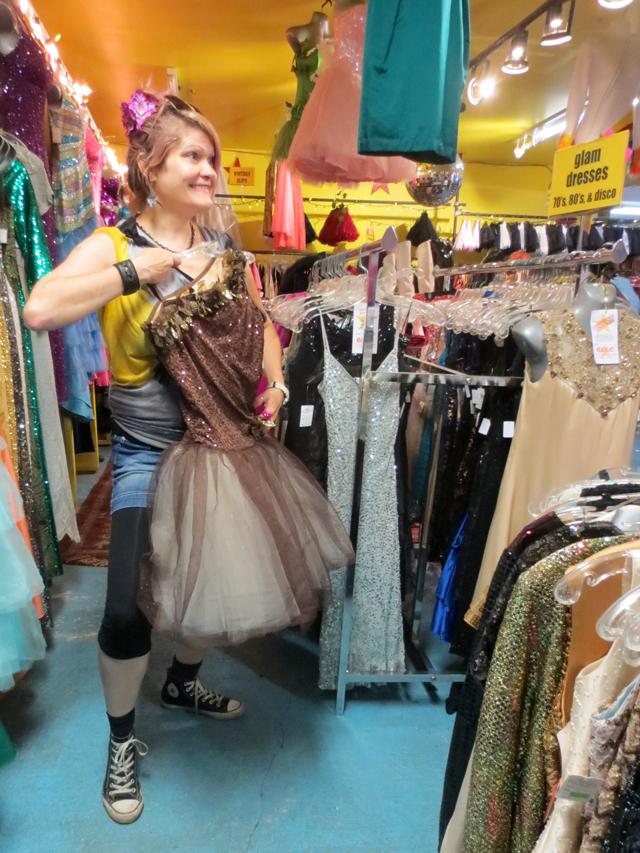 c with dress