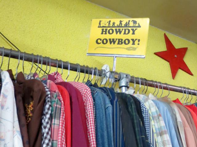 cowboy shirts in exile vintage kensington market