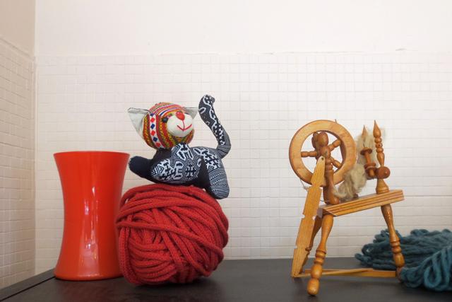 decor at yarns untangled