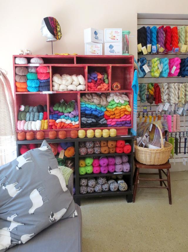 in yarns untangled shop kensington market toronto