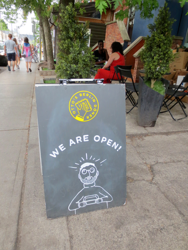 ottos berlin sign kensington market toronto