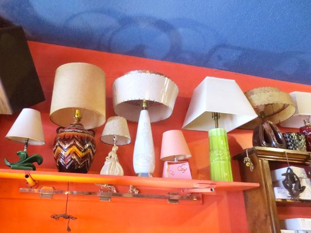 vintage lamps at courage my love kensington market toronto