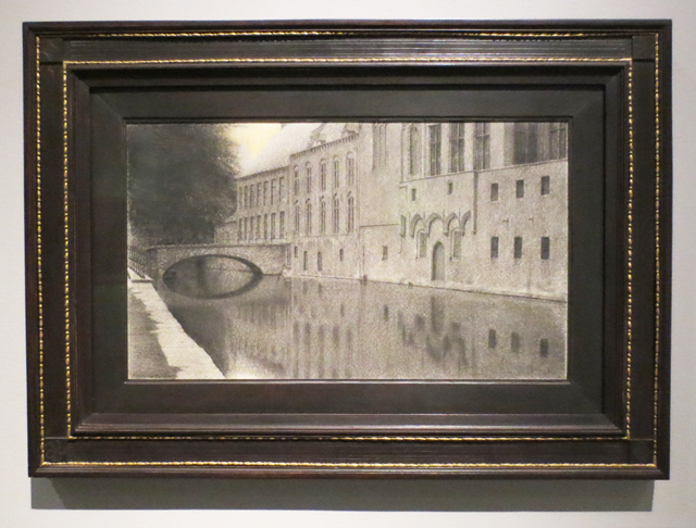 drawing-by-fernand-khnopff-at-ago-toronto-mystical-landscapes-exhibition