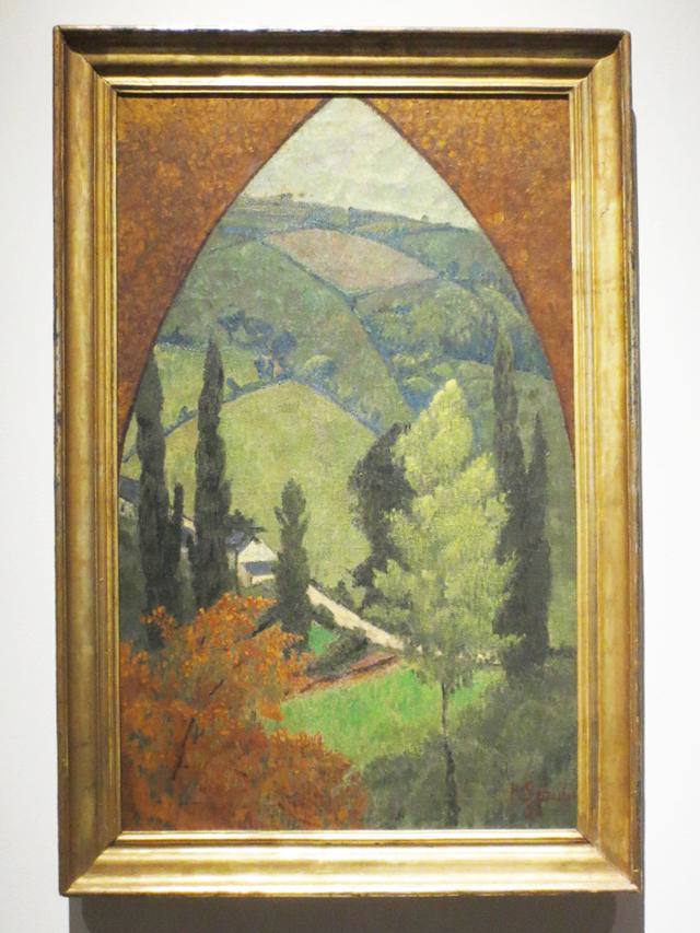 gothic-landscape-by-paul-serusier-ago-mystical-landscapes-exhibit