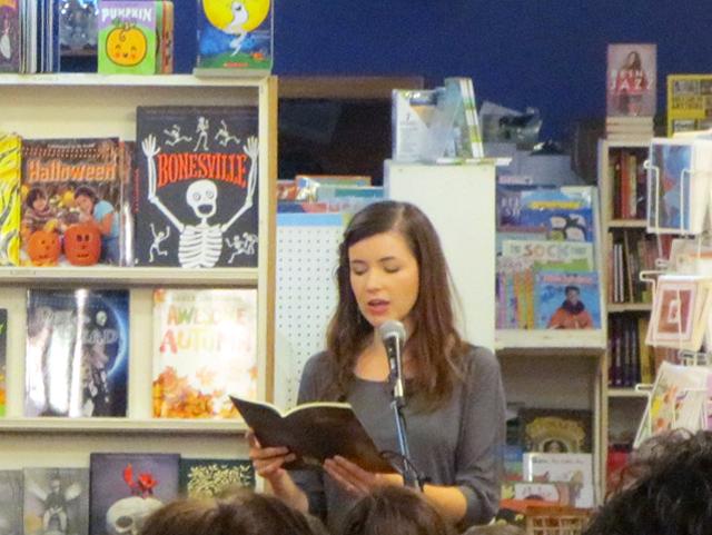 julie-reading-her-poems