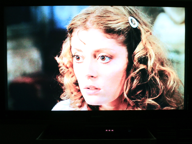 still of susan sarandon in rocky horror picture show