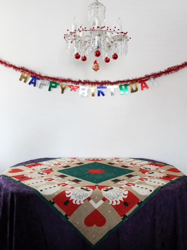 christmas birthday celebration