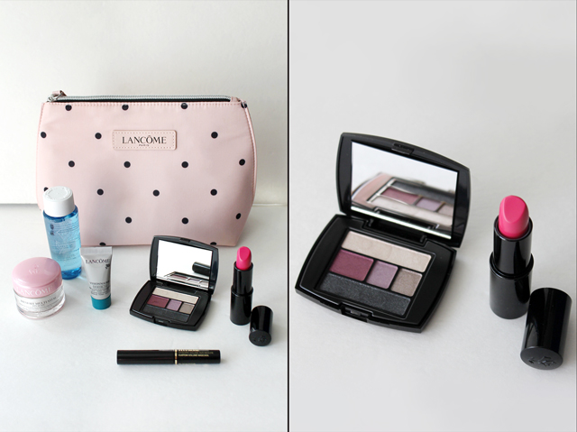 lancome gift with purchase from the bay