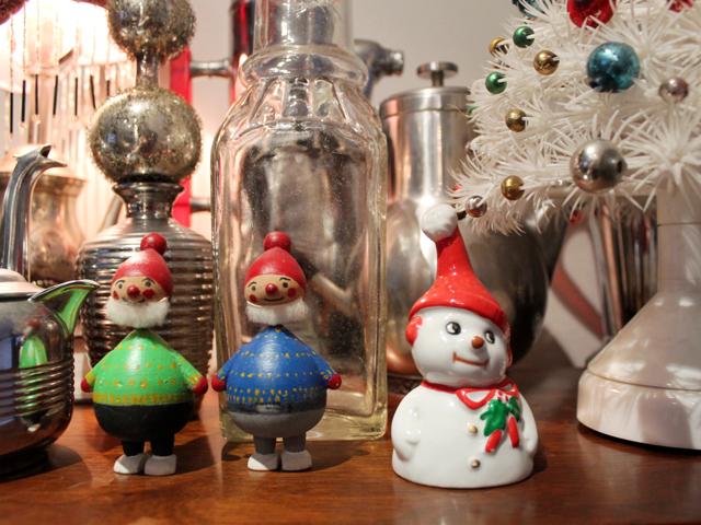 vintage christmas figurines