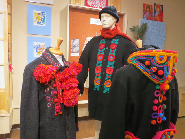 art exhibition by dave melnychuk at ukrainian museum of canada spadina avenue toronto
