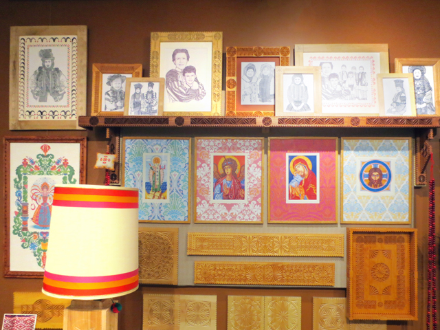 art of dave melnychuk on display at ukranian museum of canada spadina and harbord toronto