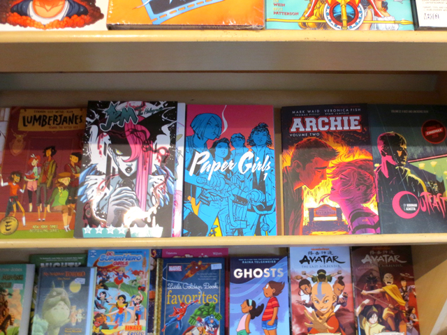 comic books at labyrinth toronto bloor street west