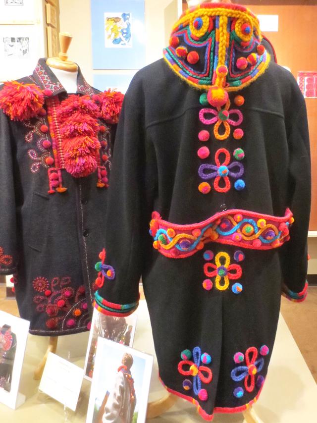 embellished coats ukranian art dave melnychuk toronto