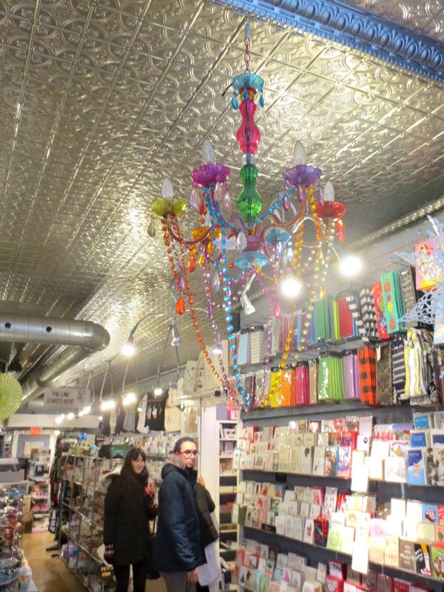 in juxtapose gift shop bloor street west toronto