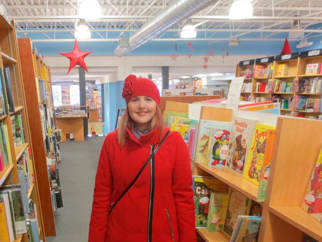 in the bookstore