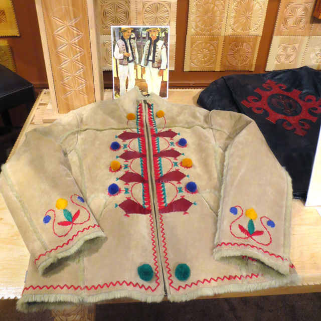jacket inspired by traditional ukranian clothing created by dave melnychuk