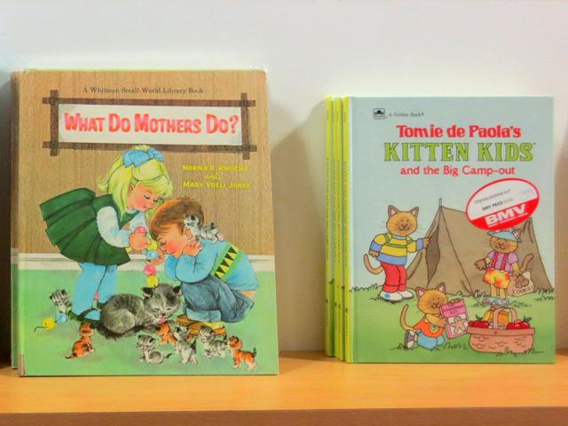 vintage childrens books at bmv bookstore toronto bloor street west the annex