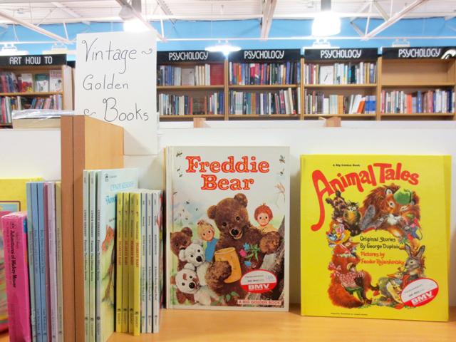 vintage childrens books toronto bmv bookstore bloor street west the annex