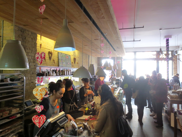 at soma chocolate shop king street west toronto valentines day