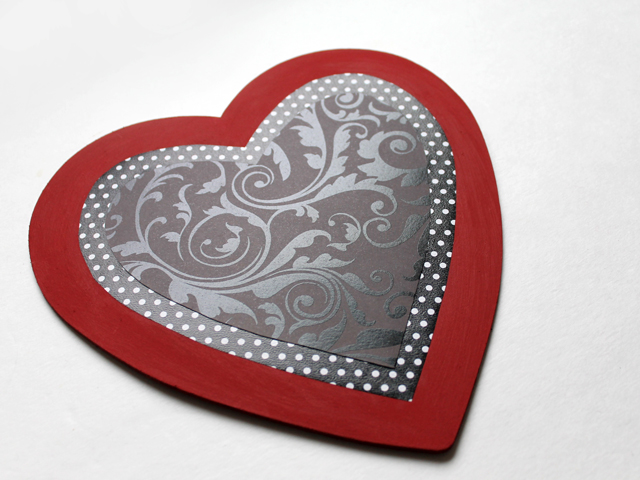 easy to make heart shaped wall hanging decoration for valentine handmade
