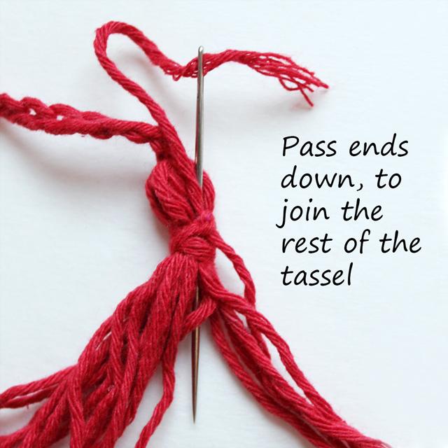 finishing tassel