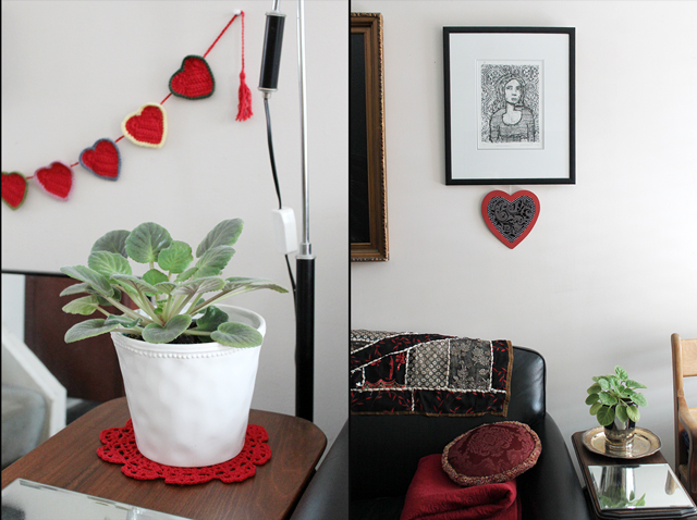 handmade valentine decorations
