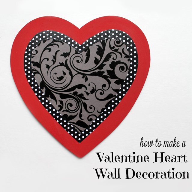 how to make a valentine decoration heart shaped wall hanging diy
