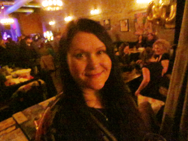 me at the bar