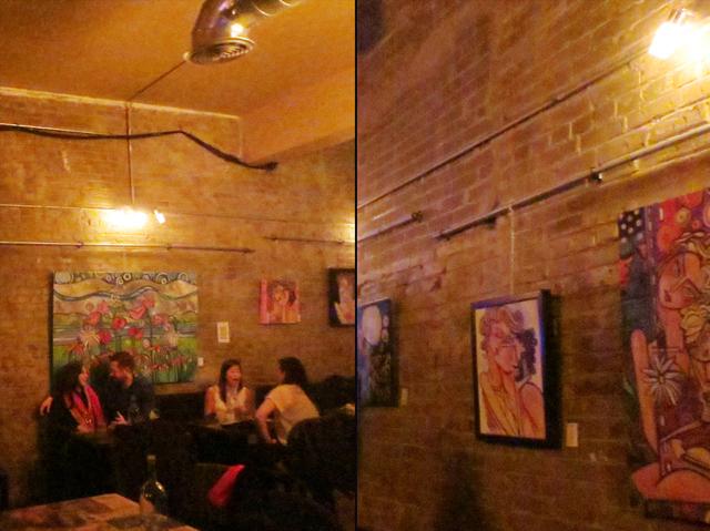tenille rose will art at 3030 dundas street west nightclub toronto