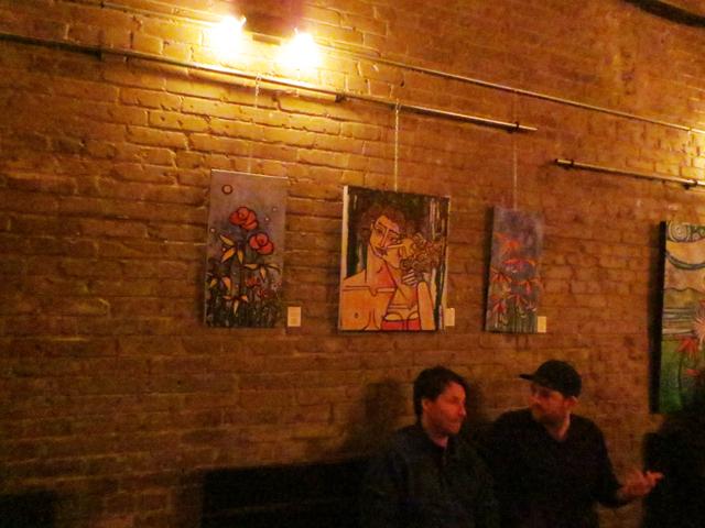 tenille rose will artwork at 3030 dundas street west nightclub toronto