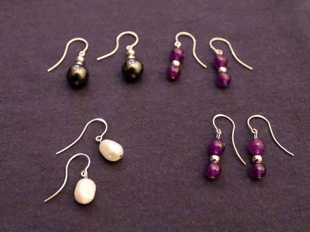 earrings we made