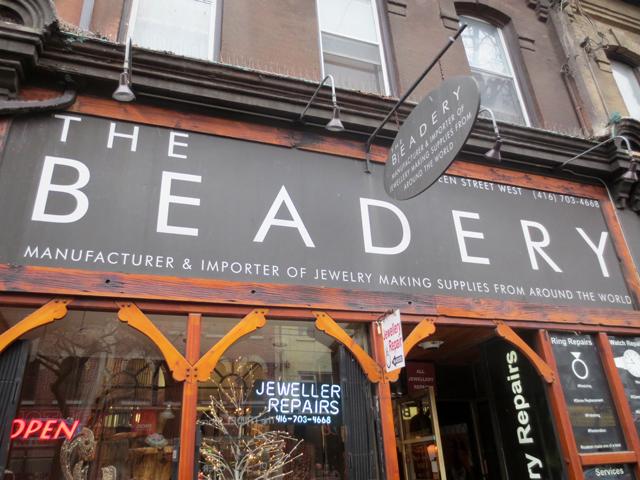the beadery queen street west toronto bead shop