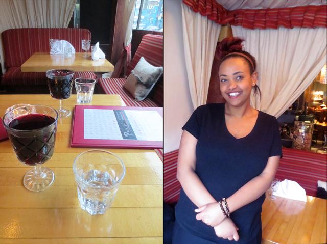 at pero restaurant toronto eritrean ethiopian bloor street west