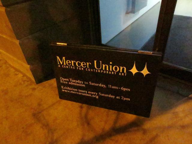 mercer union art gallery sign toronto bloor street west