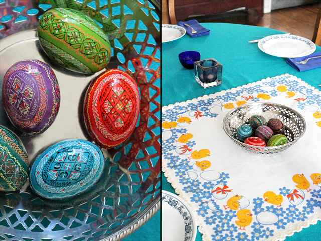 painted easter eggs from ebay ukraine