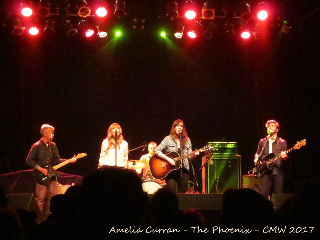 amelia curran at the phoenix toronto six shooter records cmw showcase
