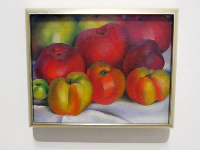 apple family painting by georgia okeeffe at ago