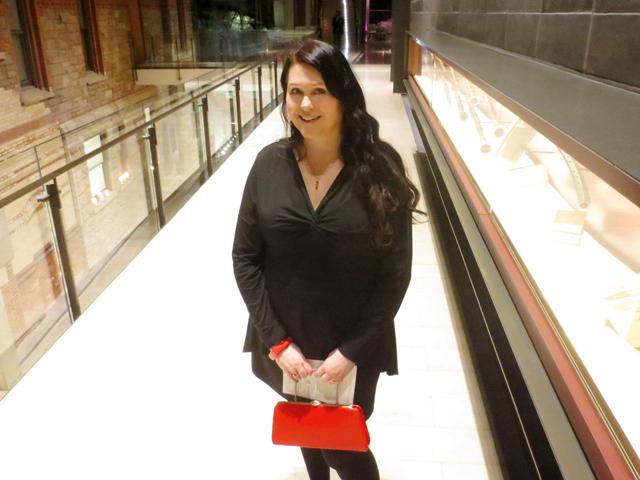 me in hallway