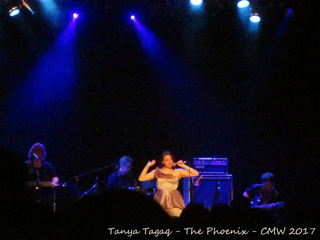 tanya tagaq at the phoenix toronto canada music week six shooter records showcase
