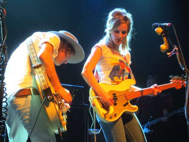whitehorse band luke doucet and melissa mcclelland at the phoenix toronto cmw