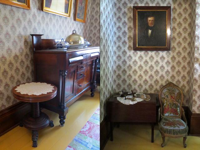 antique furniture at mackenzie house toronto historic site