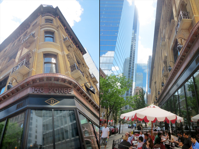 dineen building temperance and yonge street toronto historic building