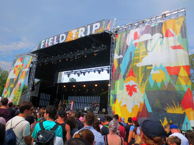 field trip music festival fort york toronto 2017 hannah georgas