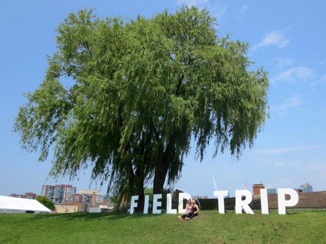 field trip music festival sign toronto 2017