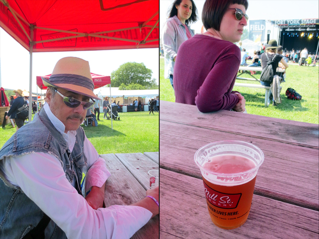 mill st beer at field trip music festival toronto