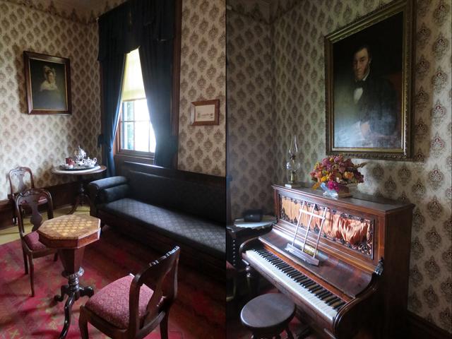 parlour at mackenzie house museum toronto historic site