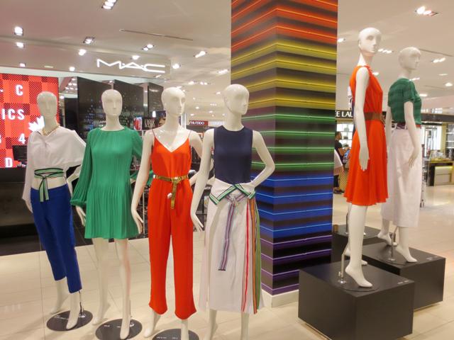 the bay manequins pride display
